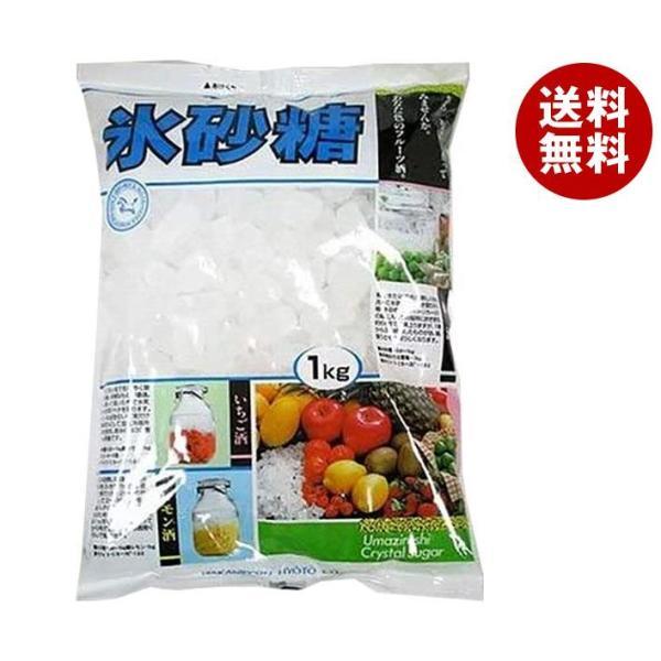 送料無料 中日本氷糖 馬印 氷砂糖クリスタル 1kg×10袋入