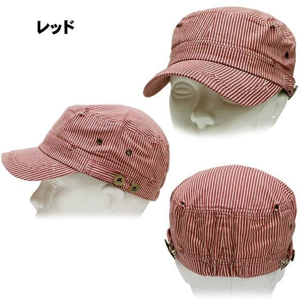 キャップ 帽子 春夏 帽子 キャップ 帽子 メンズキャップ レディースキャップ ぼうし ヒッコリーワークキャップ セール パン屋さん ゴルフ 帽子 レディース|missa-more|04