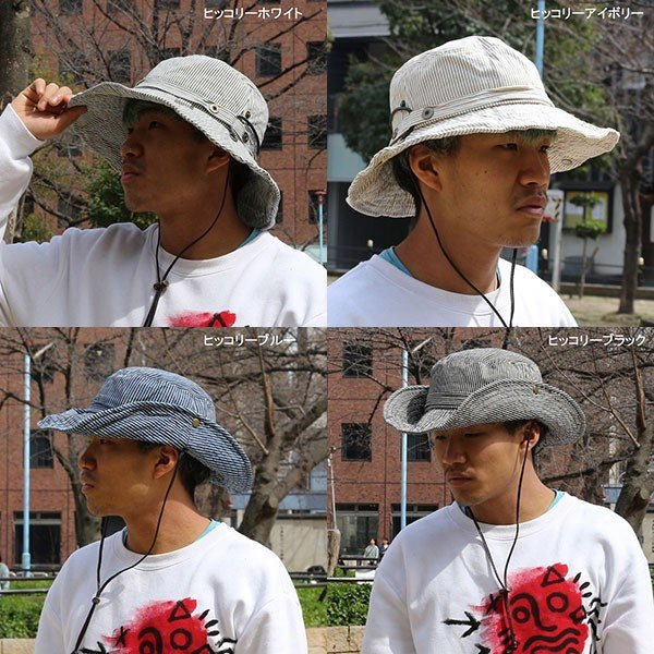 帽子 ハット メンズ 帽子 レディース夏 夏用 日よけ帽子 アドベンチャーハット 大きいサイズ  大きい BIG レディース 旅行 登山 遠足 アウトドア UV missa-more 14