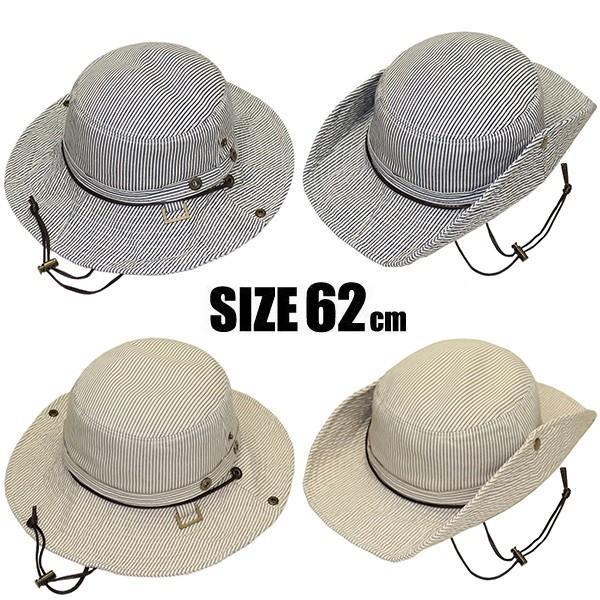 帽子 ハット メンズ 帽子 レディース夏 夏用 日よけ帽子 アドベンチャーハット 大きいサイズ  大きい BIG レディース 旅行 登山 遠足 アウトドア UV missa-more 08
