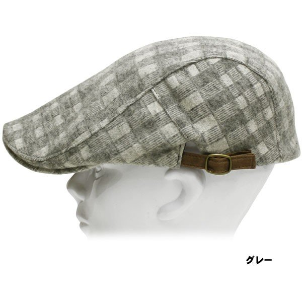 帽子 人気 おしゃれ帽子 秋 冬 ハンチング  秋・冬ハンチング レディース メンズ ハンチング帽|missa-more|05