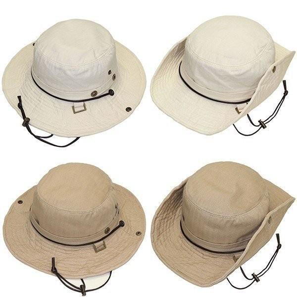 帽子 メンズ 帽子レディース サファリ UVカット帽子 メンズ 登山 帽子アドベンチャーハット 日よけ帽子 釣り 帽子 アウトドア UV/ ハット/テンガロン ぼうし|missa-more|03