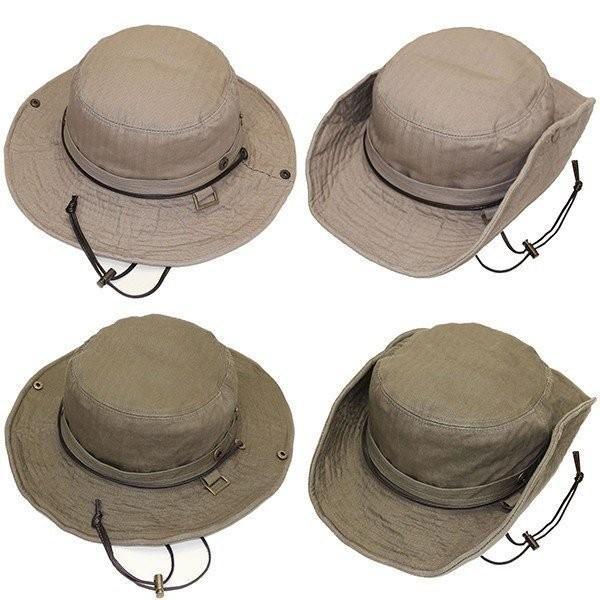 帽子 メンズ 帽子レディース サファリ UVカット帽子 メンズ 登山 帽子アドベンチャーハット 日よけ帽子 釣り 帽子 アウトドア UV/ ハット/テンガロン ぼうし|missa-more|04