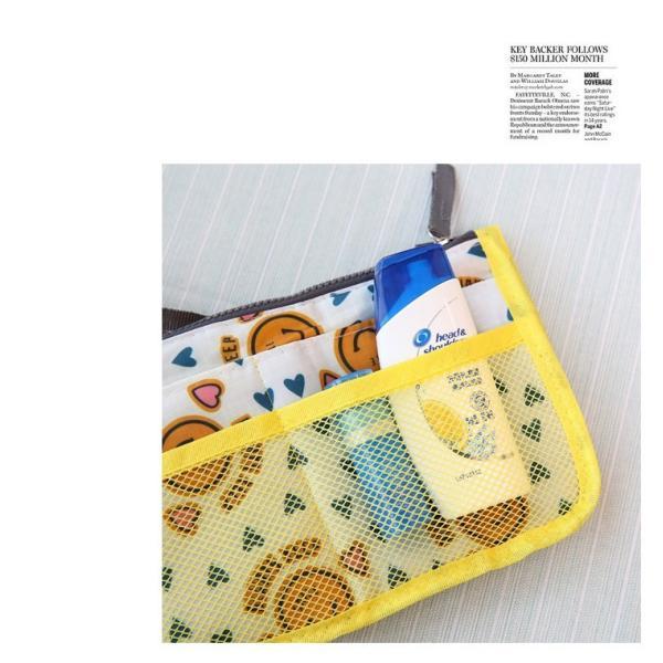 バッグインバッグ 小さめ おしゃれ レディース メンズ インナーバッグ トラベルポーチ 化粧ポーチ 小物入れ 収納 整理整頓 仕分け ゆうパケット便送料無料|missbeki|13
