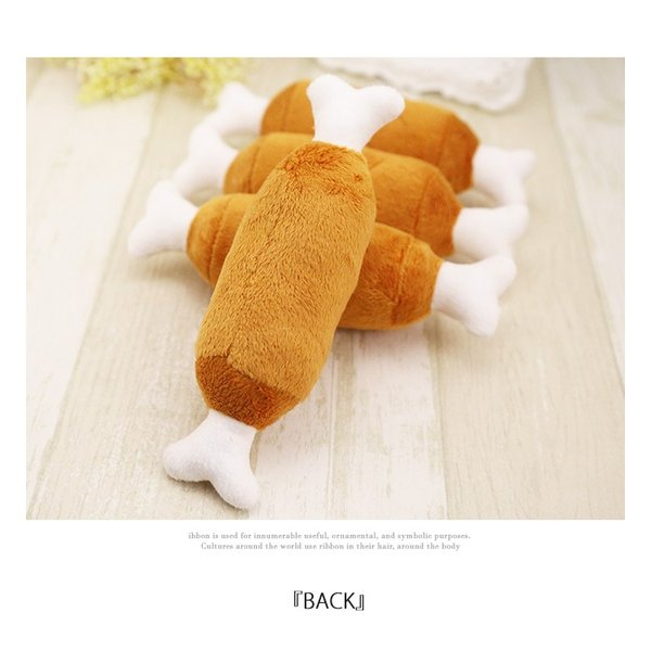 犬 おもちゃ 犬のおもちゃ 鳴る 噛む 柔らかい 音  ワンチャン  ペット用品 大人気  ペットホットドッグおもちゃ ゆうパケット便送料無料|missbeki|05