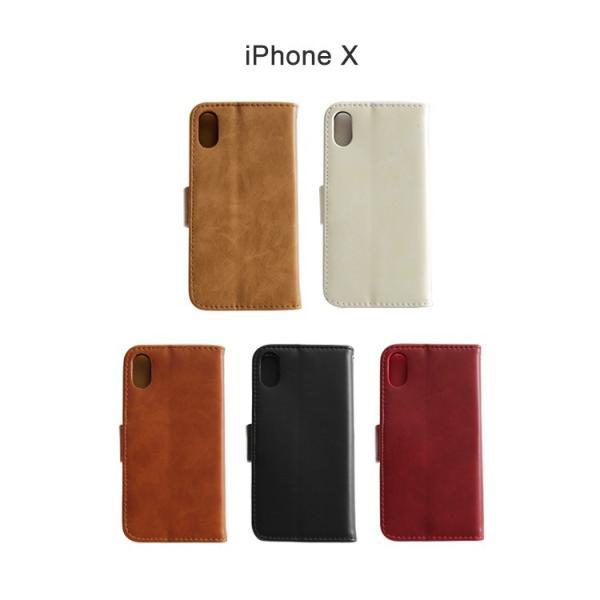 新型iPhoneXS アイフォンX スマホケース iPhoneX ケース 手帳型 カバー スマホカバー iPhoneケース アイフォンXケース ダイアリーケース 送料無料|missbeki|05