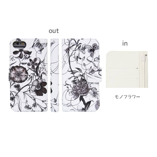 スマホケース 花柄 iPhone8 iphone7 アイフォン8  アイフォン7手帳型 スマホカバー カードホルダー フラワー 送料無料 missbeki 11