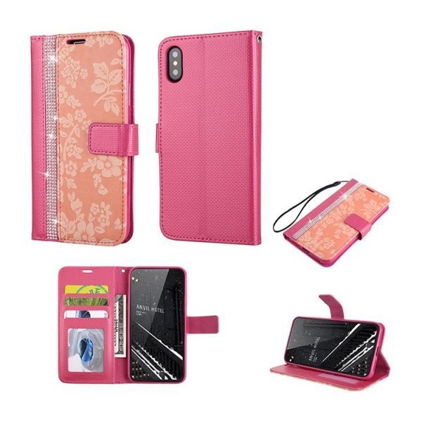 新型iPhoneXS ケース 手帳型 iPhoneX iPhone8 iPhone7 iPhone6 iPhone6s iPhone5 iPhone5s iPhoneSE アイフォンケース おしゃれ 花柄 送料無料|missbeki|10