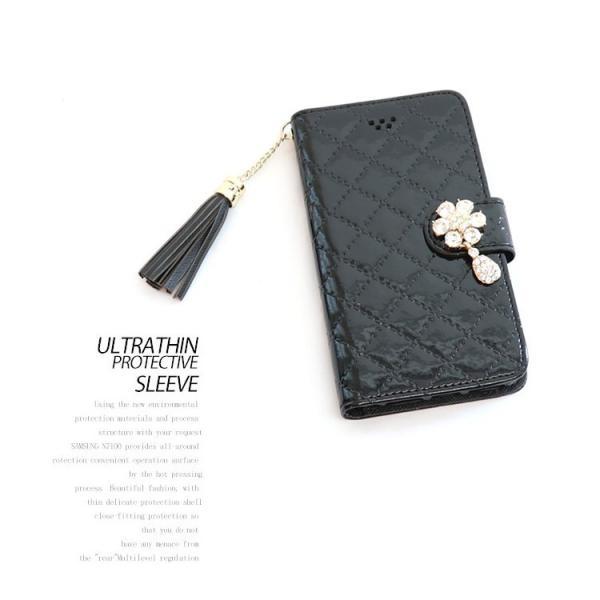 アイフォン8 ケース 手帳型 おしゃれ 女性 花 フラワー アイフォン7 ケース ストラップ付き エナメル iPhone 8 ケース iPhone7 ケース 送料無料|missbeki|08