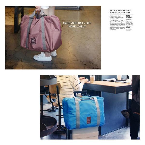 トラベルバッグ 折りたたみバッグ 旅行用 スーツケーストラベルバッグトラベルポーチ キャリーバッグ 多機能大量収納 とんとん ゆうパケット便送料無料 missbeki 06