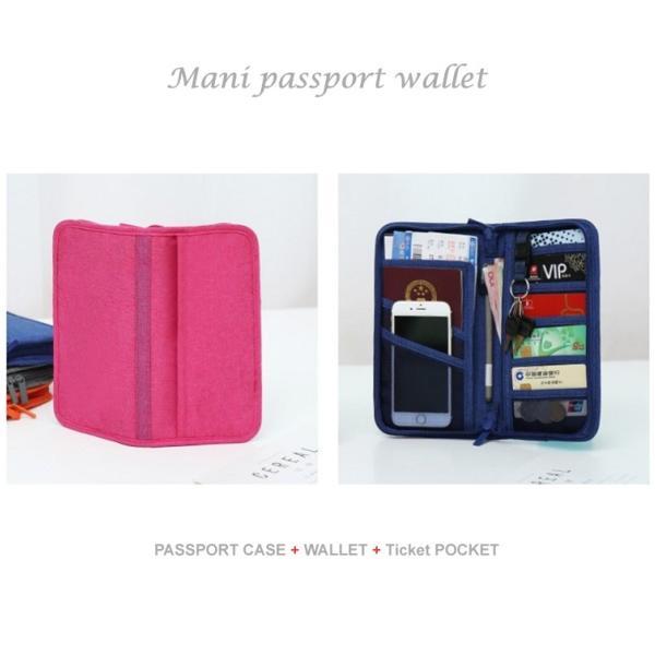 トラベル ポーチ 旅行用 パスポート ケース 多機能 大容量 長財布 財布 海外 旅行 母子手帳 マニ パスポートケース ゆうパケット便送料無料|missbeki|15