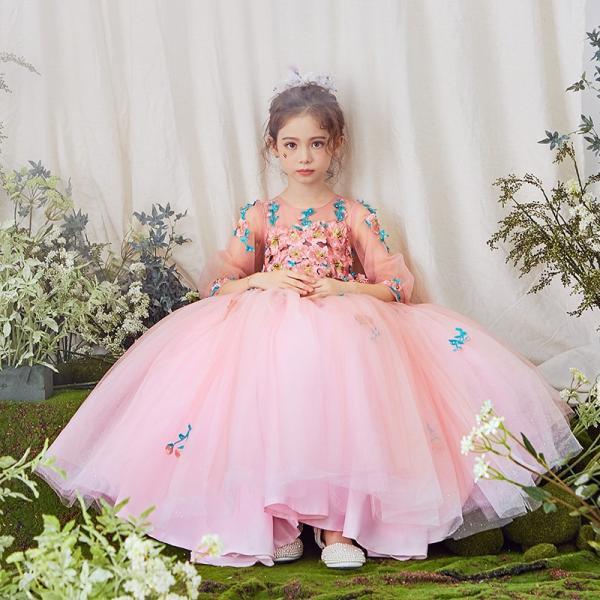 88412338c6961 子供ドレス ピアノ発表会 結婚式 キッズ フォーマルドレス ワンピース 子供服 女の子 フラワーガール ...
