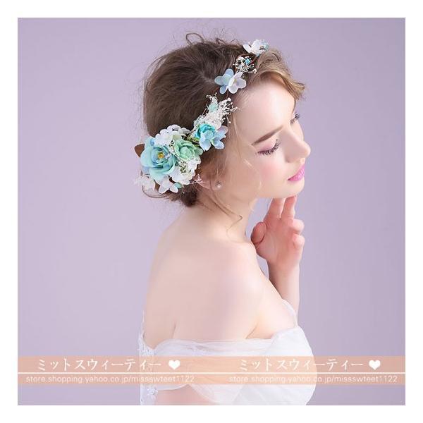 花冠 花嫁 ヘアアクセサリー 安い カチューシャ 森ガール キッズ用 パーティー 婦人・子供用 結婚式 フラワーガール