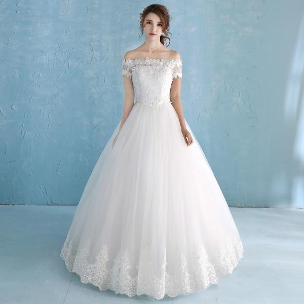 e1cc3874e825f マタニティドレス 安い ウェディングドレス 結婚式 エンパイア お呼ばれ 二次会 ウエディングドレス 花嫁 ロングドレス ブライダル ...