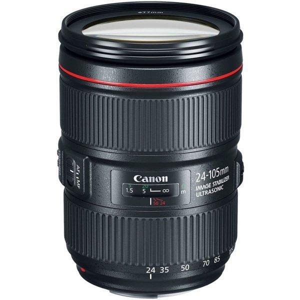 Canon 標準ズームレンズ EF24-105mm F4L IS II USM (白箱)