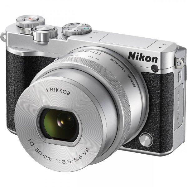 Nikon ミラーレス一眼カメラ Nikon1 J5 10-30mm レンズ (Silver)