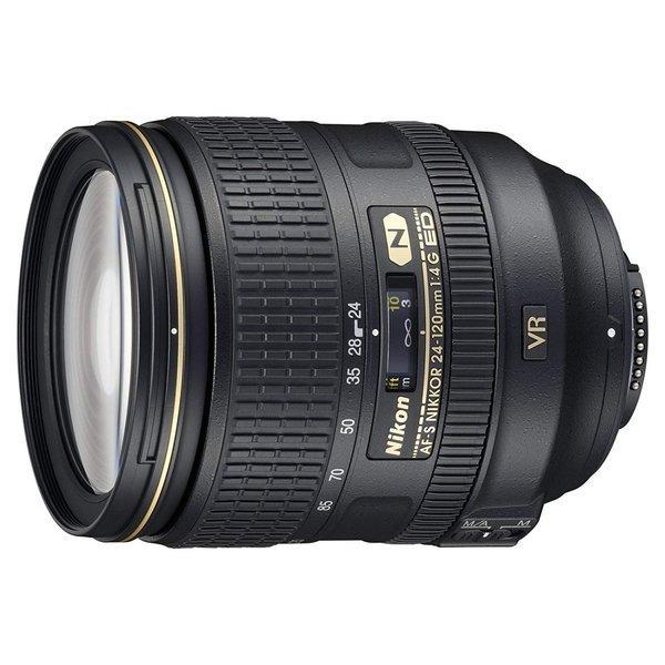 Nikon 標準ズームレンズ AF-S NIKKOR 24-120mm f/4G ED VR フルサイズ対応 (白箱)