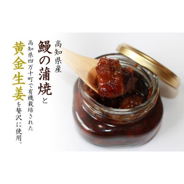 高知県産うなぎの蒲焼と黄金生姜!