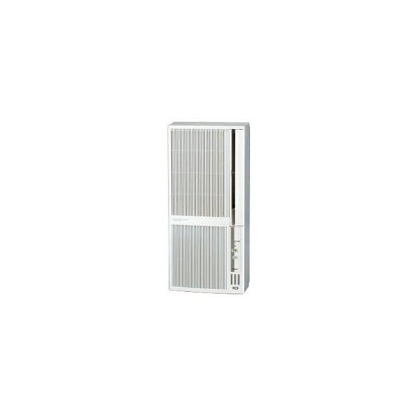 ■CORONA(コロナ)窓用エアコン 冷暖房兼用[シェルホワイト]CWH-A1820-WS