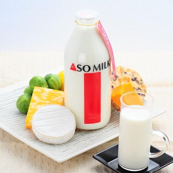 お中元 熊本 阿蘇 ギフト 牛乳&飲むヨーグルト&とぶ牛クッキー 阿部牧場 阿蘇ミルク 三ツ星 06|mitinoekiaso|02