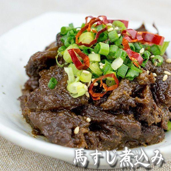 お中元 熊本 阿蘇 ギフト 特産品バラエティセット05 阿蘇のあか牛・馬肉とスイーツのミニセット|mitinoekiaso|04