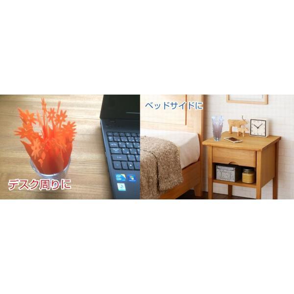 ペーパー加湿器 さくら(Sakura) 1枚 加湿紙 電気・電源不要のエコな紙の加湿器 卓上インテリア 美濃和紙使用|mitokamiten|04