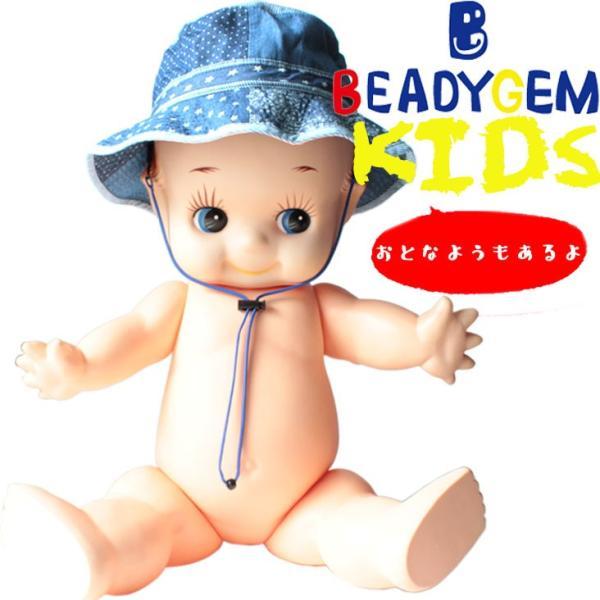 キッズ BEADYGEM ビーディージェム BG PAORO POKEPOKE HAT 帽子ハット 2wa 折り畳み 収納 男の子 女の子 熱中症対策 日よけ ポシェット mitoman
