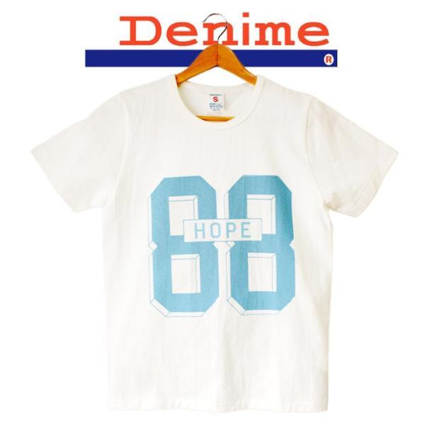 DENIME ドゥニーム BASIC 88HOPE TEE 半袖 Tシャツ|mitoman