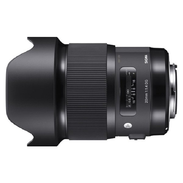 シグマ 20mm F1.4 DG HSM Art キヤノン用  (0085126412548)