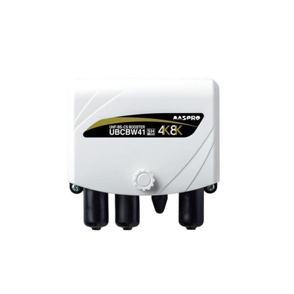 マスプロ電工 家庭用UHF・BS・CSブースター UBCBW41 同梱不可