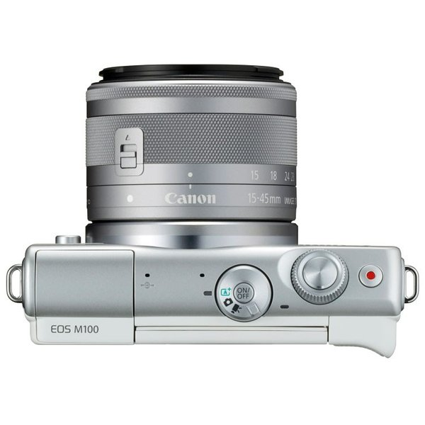 キヤノン EOS M100・EF-M15-45 IS STMレンズキット『1〜3営業日後の発送/ホワイト色:納期2週間程度』