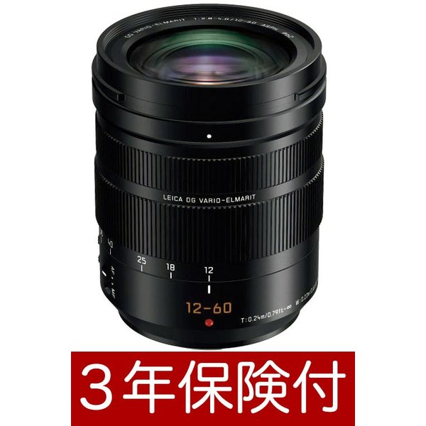 Panasonic LEICA DG VARIO-ELMARIT 12-60mm / F2.8-4.0 ASPH./POWER O.I.S. H-ES12060 標準ズームレンズ『2019年3月中旬入荷予定』