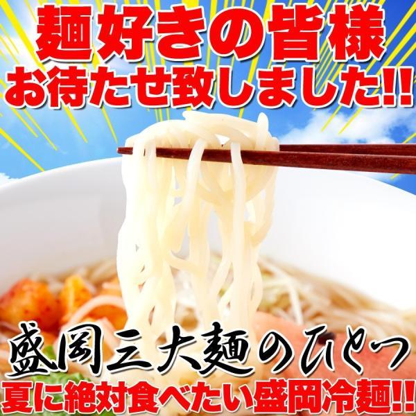 【送料無料/ゆうメール出荷】本場名産品!!老舗の盛岡冷麺4食スープ付き(100g×4袋)|mitsuboshi|02