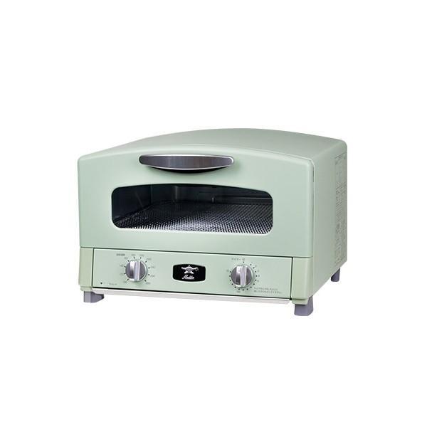 Aladdin アラジン グラファイト グリル&トースター CAT-G13A(G) アラジングリーン 4枚焼き