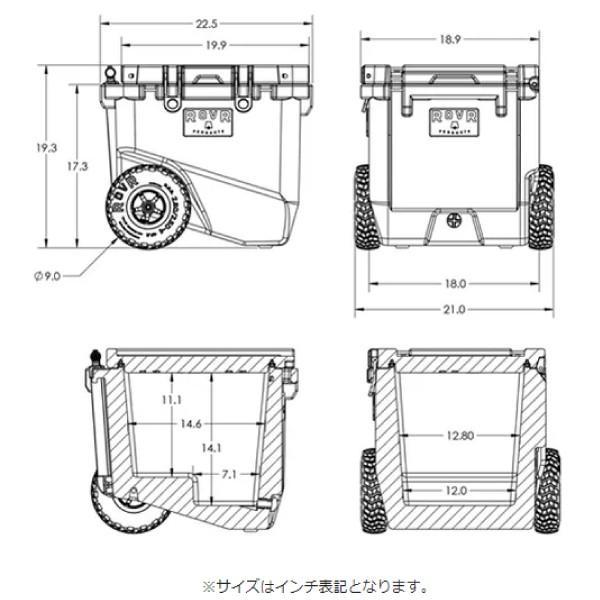 ROVR PRODUCTS(ローバープロダクツ) RollR 45  7RV45NB|mitsuyoshi|14