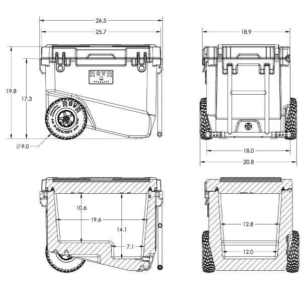 ROVR PRODUCTS(ローバープロダクツ) RollR 60  7RV60D|mitsuyoshi|13