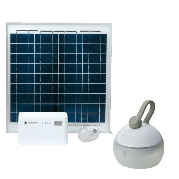 スノーピーク エマージェンシーセット ソーラーチャージャーライト 防災対策 EM-003 キャンプ用品|mitsuyoshi