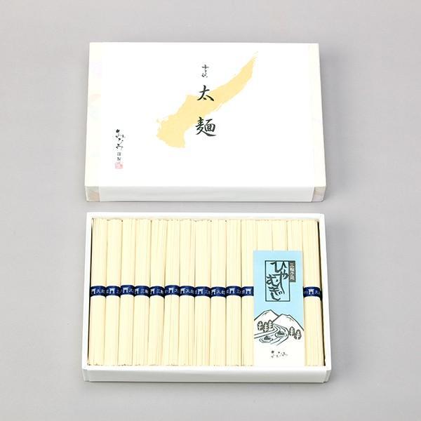 ひやむぎ 冷や麦 太麺 50g×30束 三輪素麺みなみ 贈答用 化粧箱|miwaminami-store