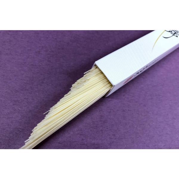 そうめん 神舞 かみまい 50g×10本 極細 三輪素麺みなみ 素麺 手延 化粧箱|miwaminami-store|03
