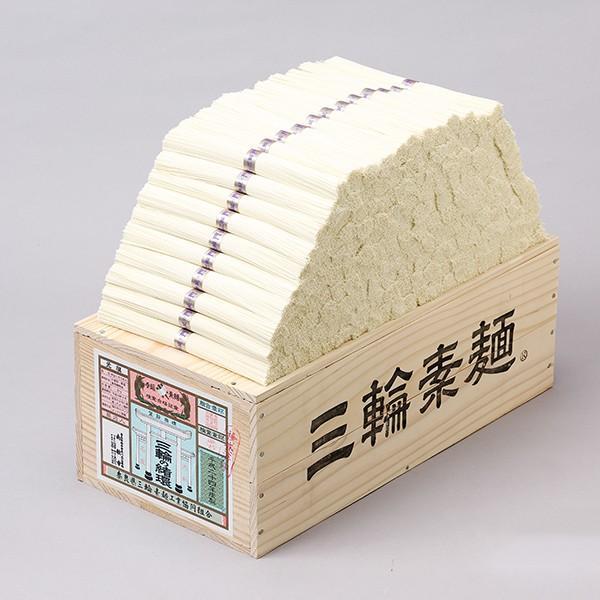そうめん 木箱 緒環 50g×180束 9kg 素麺 三輪素麺みなみ 細物 ギフト 送料無料|miwaminami-store|02