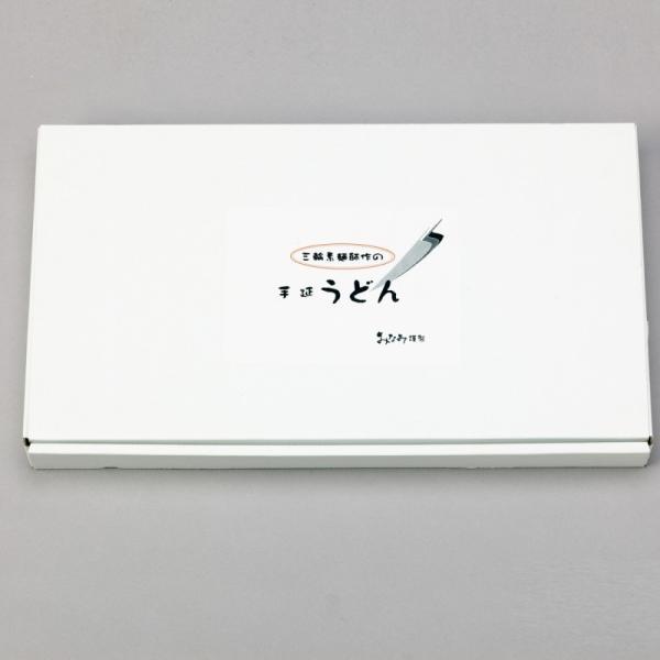 うどん 手延うどん 180g×6袋・めんつゆ 6袋セット 三輪素麺みなみ 段ボール箱|miwaminami-store|02