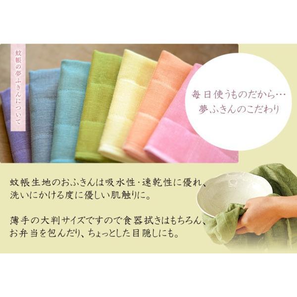 蚊帳の夢ふきん×三輪そうめん 夢つつみ。 (みずいろ) |miwasoumen|02