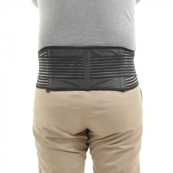腰痛 ベルト コルセット サポーター 男女兼用 骨盤ベルト 温め 自己発熱 冷え性 トルマリン ヘルニア ぎっくり腰 メッシュ|miwoli-y|19