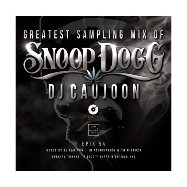 【ワンコイン】スヌープドッグ サンプリング ネタ物 DJコージュン  MixCD Epix 54 -Greatest Sampling Mix Of Snoop Dogg- / DJ Caujoon[M便 2/12]