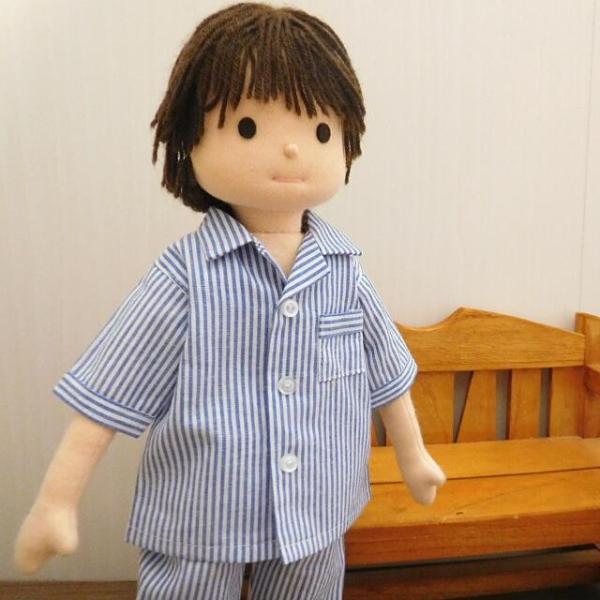 人形用 パジャマ 半袖 ストライプ 人形用パジャマ|mixjam-store|10