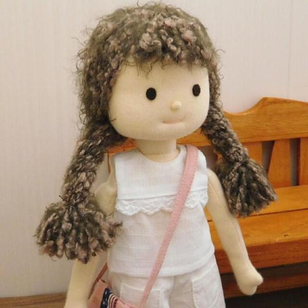 洋服セット ダンガリーシャツとフレアパンツのセット 着せ替え人形 28cmサイズ|mixjam-store|10