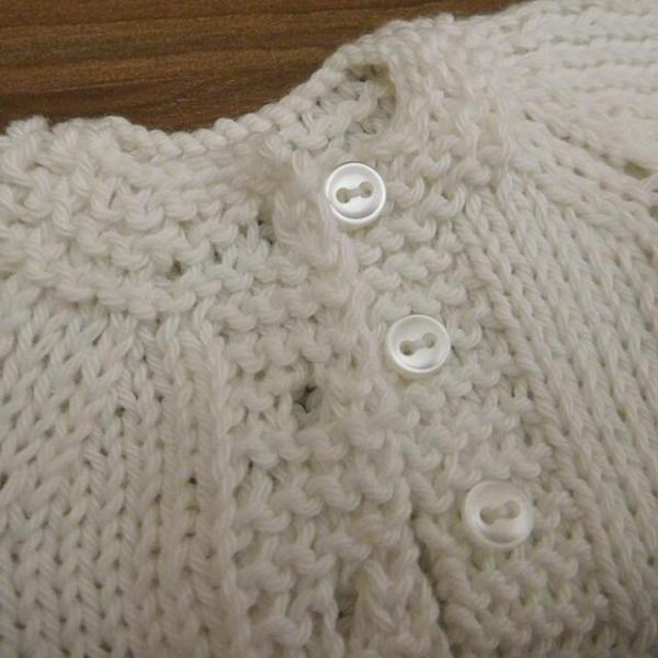 手作り 布製 着せかえ 人形 ギンガムワンピース- 半袖カーディガン 女の子 着せ替え セット 34cmサイズ|mixjam-store|09