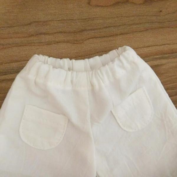 手作り 布製 人形 女の子 布人形 ボーダーTシャツ エプロン マルシェバッグ 女の子 セット 34cmサイズ|mixjam-store|15