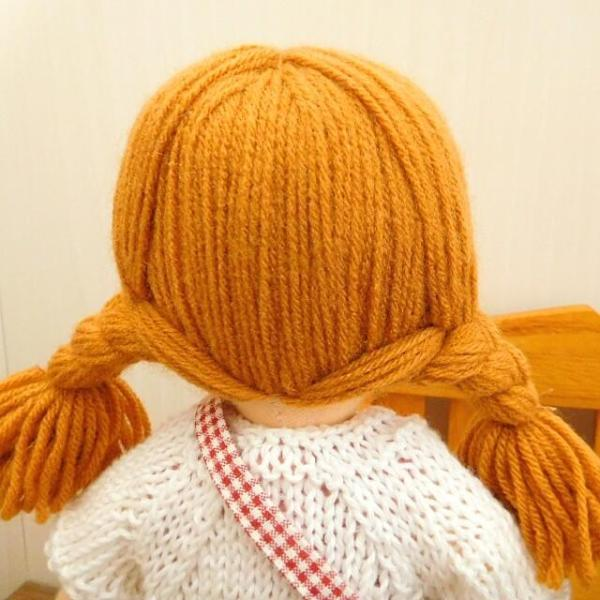布のお人形 着せ替え 28cmサイズ 人形 ピンクのワンピース カーディガン セット|mixjam-store|07