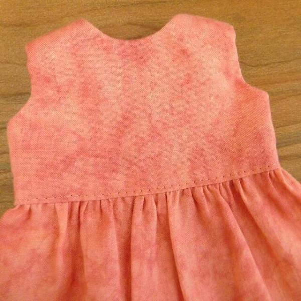 布のお人形 着せ替え 28cmサイズ 人形 ピンクのワンピース カーディガン セット|mixjam-store|09